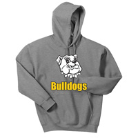 Adult Unisex - Bulldogs Pullover Hooded Sweatshirt