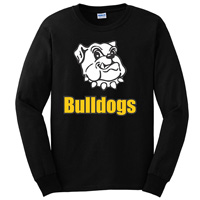 Adult Unisex - Bulldogs Long Sleeve T-Shirt