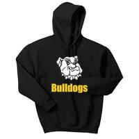 Youth - Bulldogs Pullover Hooded Sweatshirt - Black