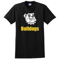 Adult Unisex - Bulldogs T-shirt - Black
