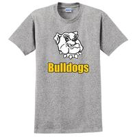 Youth - Bulldogs T-shirt - Sport Grey