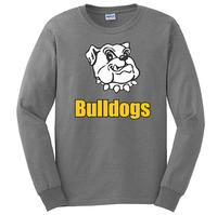 Youth - Bulldogs Long Sleeve T-Shirt - Sport Grey