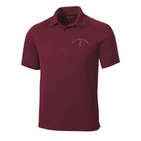 ADULT - Dri-Zone Raglan Polo - Maroon