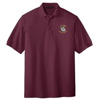 Men's Silk Touch Polo - Burgundy
