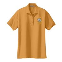 STAFF - Ladies Silk Touch Polo - Gold