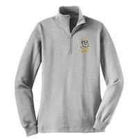 STAFF - Ladies 1/4-Zip Sweatshirt - Athletic Heather