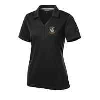 Ladies Micro-Mesh Polo - Black