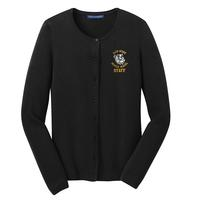 Staff - Ladies Cardigan Sweater - Black