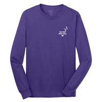 Adult Unisex - What You Do Matters Long Sleeve T-shirt - Purple
