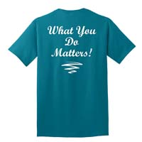 Adult Unisex - What You Do Matters T-shirt
